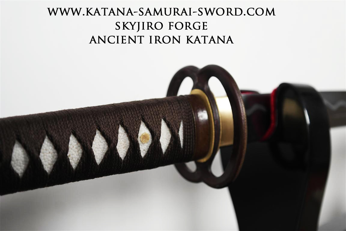 Ancient Iron Katana